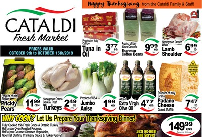Cataldi Fresh Market Flyer October 9 to 15