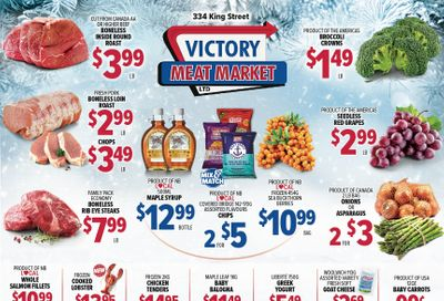 Victory Meat Market Flyer February 16 to 20