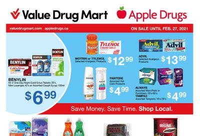 Value Drug Mart Flyer February 14 to 27