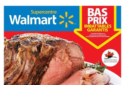 Walmart Supercentre (QC) Flyer October 10 to 16