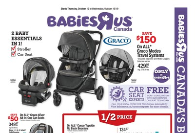 Babies R Us Flyer October 10 to 16