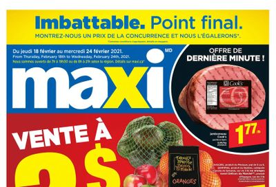 Maxi Flyer February 18 to 24