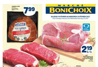Marche Bonichoix Flyer February 18 to 24