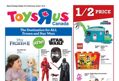 Toys R Us Flyer October 10 to 16