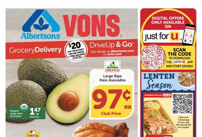 Albertsons Weekly Ad Flyer February 17 to February 23