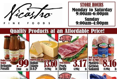 Nicastro Fine Foods Flyer February 3 to 16