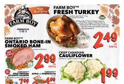 Farm Boy Flyer October 10 to 16