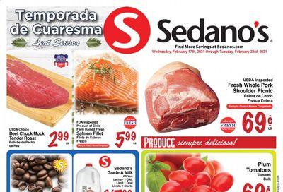 Sedano's (FL) Weekly Ad Flyer February 17 to February 23