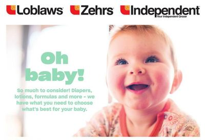 Loblaws (ON) Baby Flyer February 18 to March 3