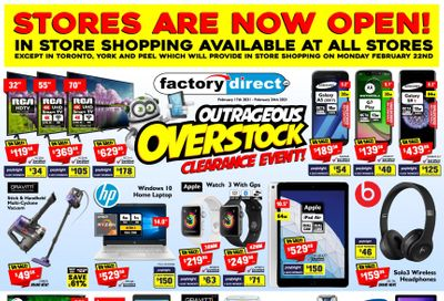 Factory Direct Flyer February 17 to 24