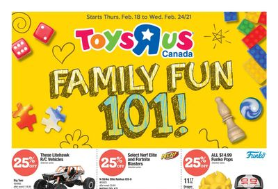 Toys R Us Flyer February 18 to 24