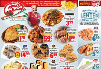 Angelo Caputo's Lenten Special Weekly Ad Flyer February 17 to February 23, 2021
