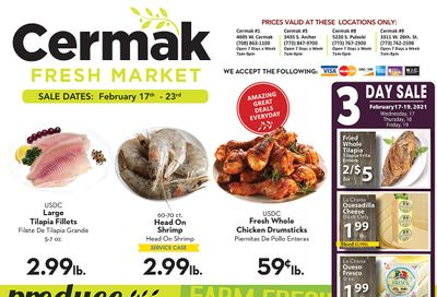 Cermak Fresh Market (IL) Weekly Ad Flyer February 17 to February 23, 2021