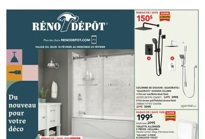 Reno Depot Flyer February 18 to 24