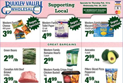 Bulkley Valley Wholesale Flyer February 18 to 24