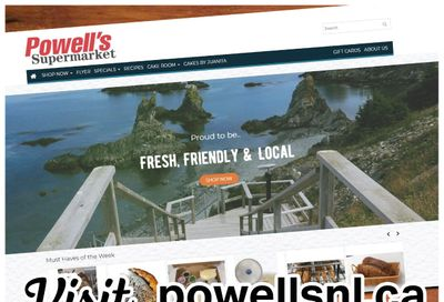 Powell's Supermarket Flyer February 18 to 24
