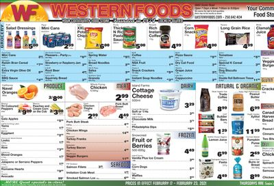 Western Foods Flyer February 17 to 23