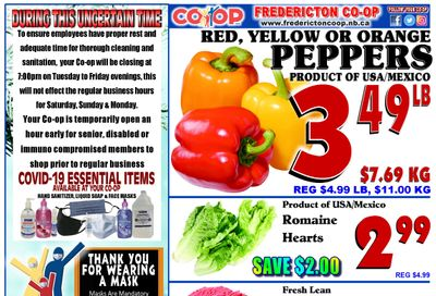 Fredericton Co-op Flyer February 18 to 24