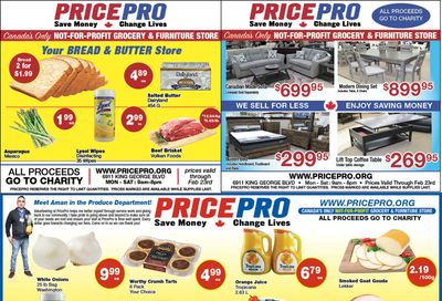 Price Pro Flyer February 17 to 23