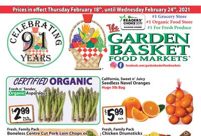The Garden Basket Flyer February 18 to 24
