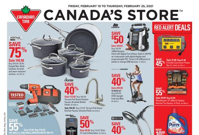 Canadian Tire (West) Flyer February 19 to 25