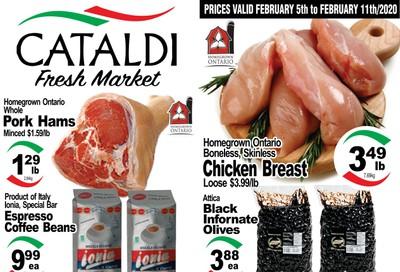 Cataldi Fresh Market Flyer February 5 to 11