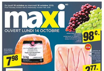 Maxi Flyer October 10 to 16