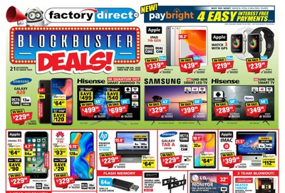 Factory Direct Flyer February 5 to 12