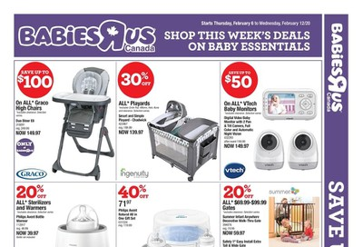 Babies R Us Flyer February 6 to 12