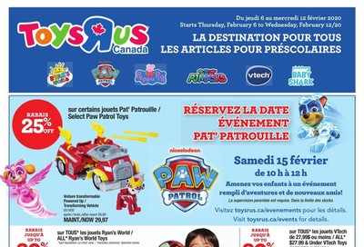 Toys R Us (QC) Flyer February 6 to 12
