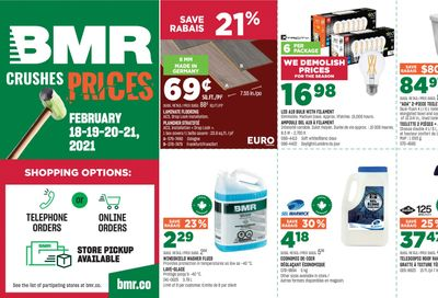 BMR Flyer February 18 to 21