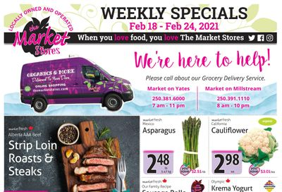 The Market Stores Flyer February 18 to 24