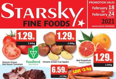 Starsky Foods Flyer February 18 to 24