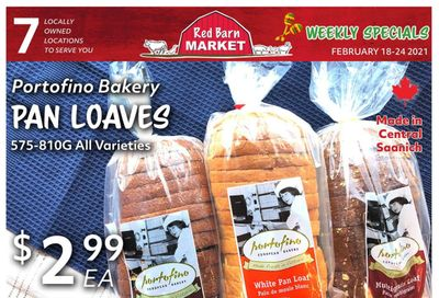 Red Barn Market Flyer February 18 to 24