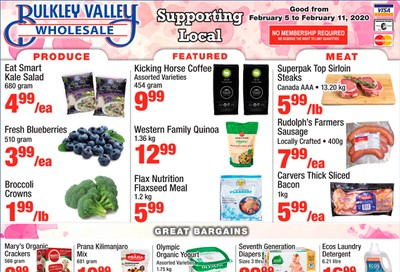 Bulkley Valley Wholesale Flyer February 5 to 11