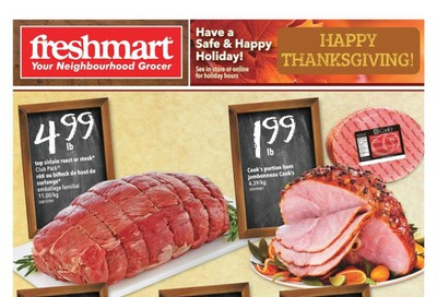 Freshmart (ON) Flyer October 10 to 16