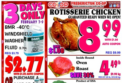 Fredericton Co-op Flyer February 6 to 12