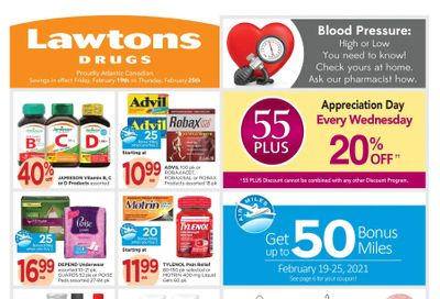 Lawtons Drugs Flyer February 19 to 25