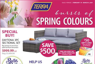 Terra Greenhouses Flyer February 19 to March 4