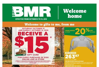 BMR Flyer October 9 to 15