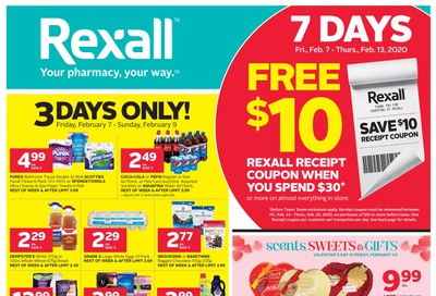 Rexall (West) Flyer February 7 to 13
