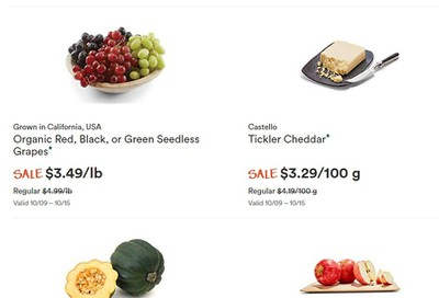 Whole Foods Market (West) Flyer October 9 to 15