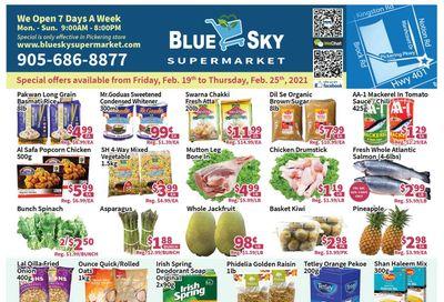 Blue Sky Supermarket (Pickering) Flyer February 19 to 25
