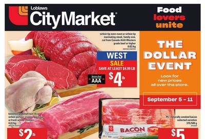 Loblaws City Market (West) Flyer September 5 to 11