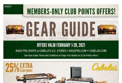 Cabela's Weekly Ad Flyer February 1 to February 28