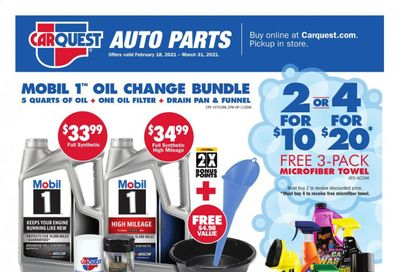 Advance Auto Parts Weekly Ad Flyer February 18 to March 31
