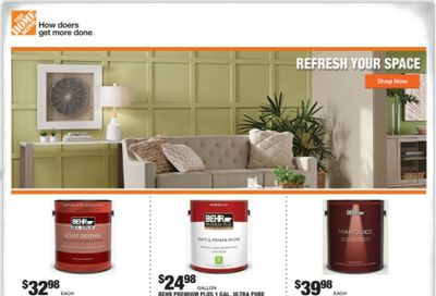 The Home Depot Weekly Ad Flyer February 18 to February 25