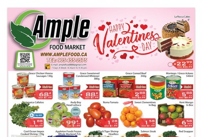 Ample Food Market Flyer February 7 to 13