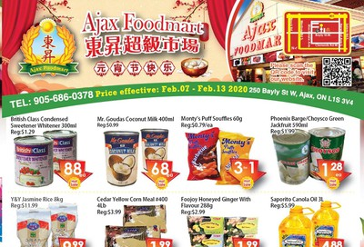Ajax Foodmart Flyer February 7 to 13