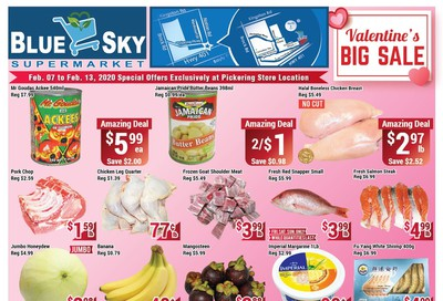 Blue Sky Supermarket (Pickering) Flyer February 7 to 13